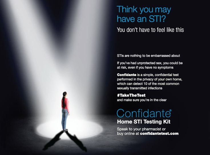 Worried about STIs? Don't feel like the spotlight's on you...just #TakeTheTest and make sure you're in the clear http://www.confidantetest.com