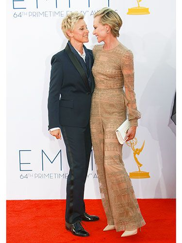 Ellen DeGeneres: She makes the world a better place. Ellen and Portia: What a beautiful example of love.