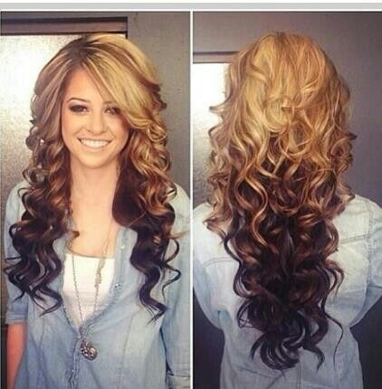 54 best Fun Ways To Dye Your Hair images on Pinterest | Colourful ...