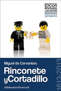 #Ebook: Rinconete y Cortadillo; Miguel de Cervantes. Clásicos Molineros. Editorial Molino de Ideas. #Libro #Castellano #Lengua #Literatura