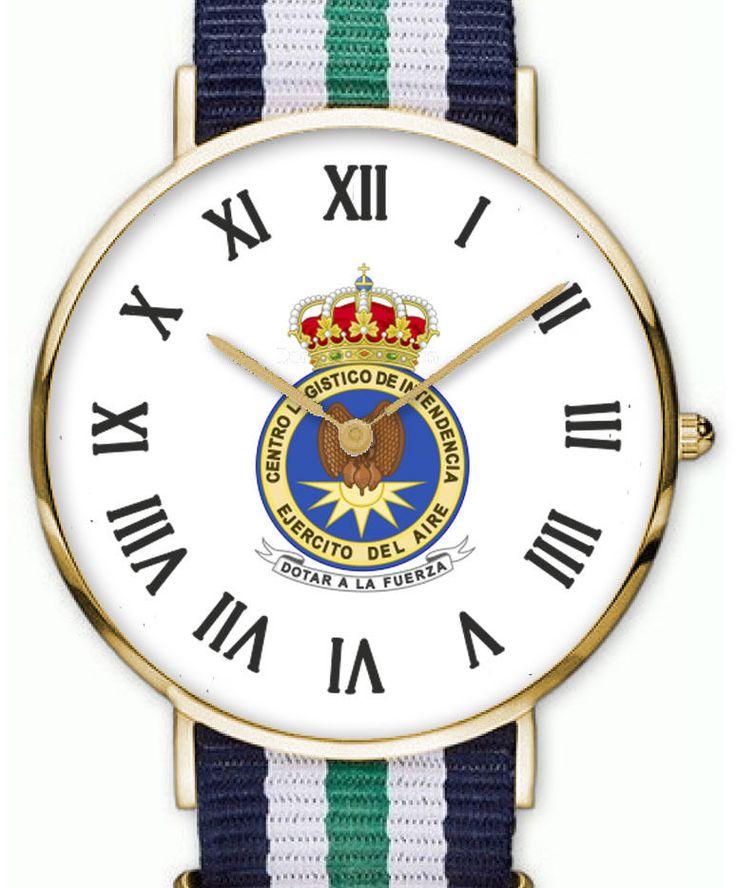 Reloj CENTRO LOGISTICO INTENDENCIA del Ejercito del Aire Español   eBay