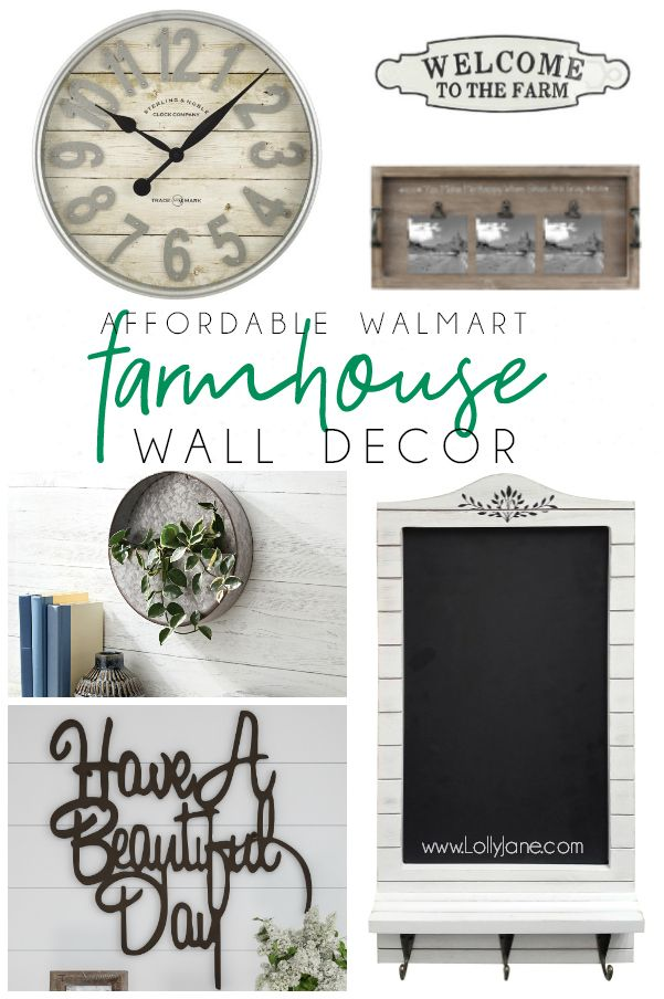 Loving All This Super Affordable Farmhouse Decor From Walmart Wow
