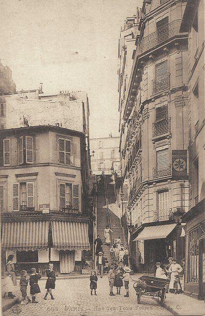 rue des Trois-Frères - Paris 18e