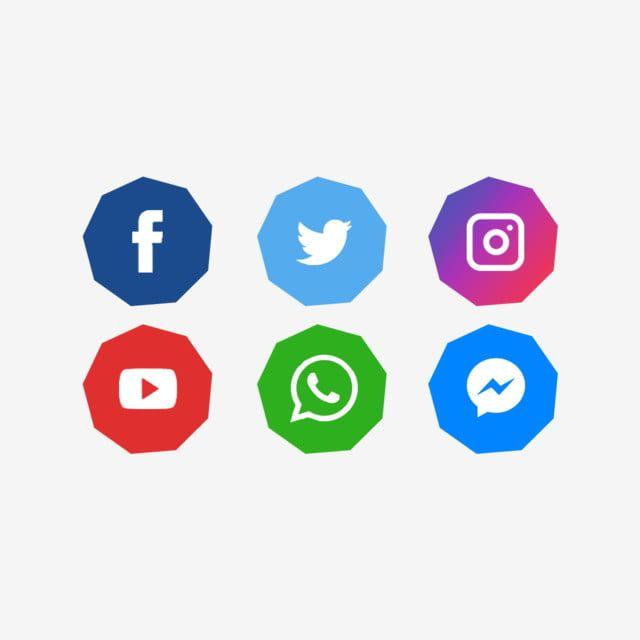مختلف الرموز أيقونات أيقونة موقع التواصل الاجتماعي الفيسبوك Png وملف Psd للتحميل مجانا Logo Facebook Instagram Logo Blue Background Images