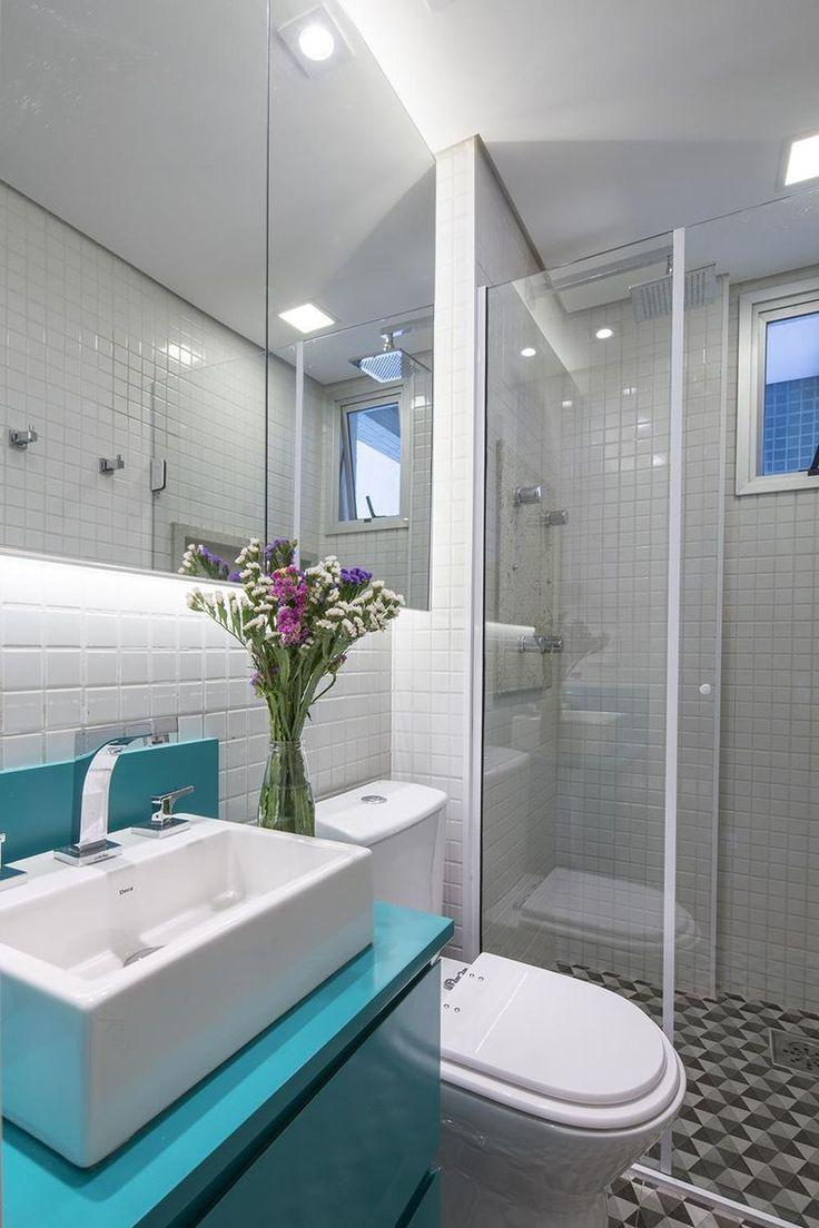 decorar banheiro pequeno gastando pouco:Decorar Baños Pequeños Pinterest'te