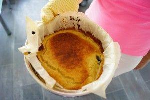 Favoriet dessert van mijn dreumes: flaugnarde maar dan suikervrij en melkvrij