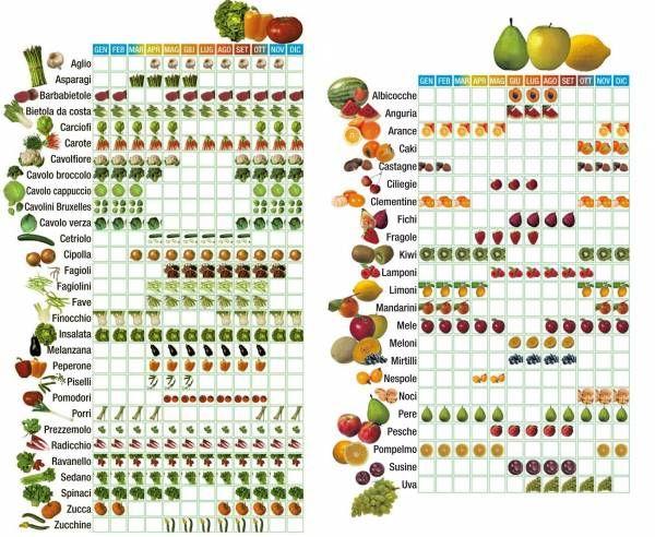 verdure stagione - Cerca con Google