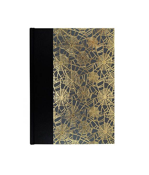 "#artist gift Fabulous new Journal w/Blank Paper ""Golden Web"" just $25.00 #wolfiesbindery"