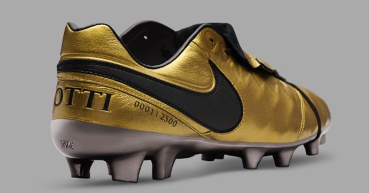 PHOTOS: Nike Unveil Stunning Gold Boots in Order to Commemorate 25th Anniversary of Totti's Career #fashion #style #stylish #love #me #cute #photooftheday #nails #hair #beauty #beautiful #design #model #dress #shoes #heels #styles #outfit #purse #jewelry #shopping #glam #cheerfriends #bestfriends #cheer #friends #indianapolis #cheerleader #allstarcheer #cheercomp  #sale #shop #onlineshopping #dance #cheers #cheerislife #beautyproducts #hairgoals #pink #hotpink #sparkle #heart #hairspray…