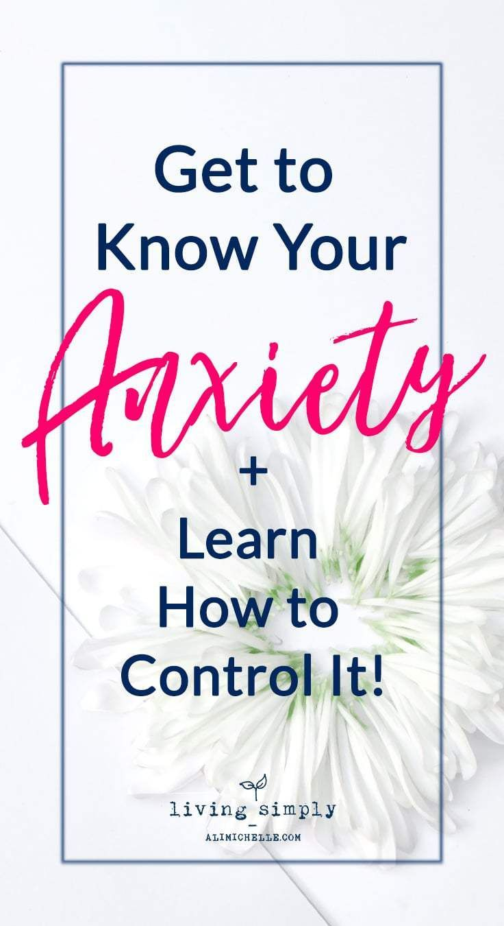Understand Your Anxiety and Learn Strategies to Manage It. Living Simply Blog by Ali Michelle is a personal growth and mental health blog providing strategies to strengthen your resilience, self-worth, and positivity for more balanced mental health.