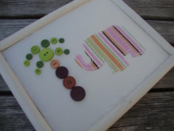 ButtonsBeads Buttons, Decor Ideas, Crafts Ideas, Button Art, Amiya Room, Buttons Art, Crafts Stuff, Beading Buttons, Craftpaper Art Cut