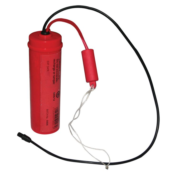 Lithium Battery for Liferaft Lights, 6V image