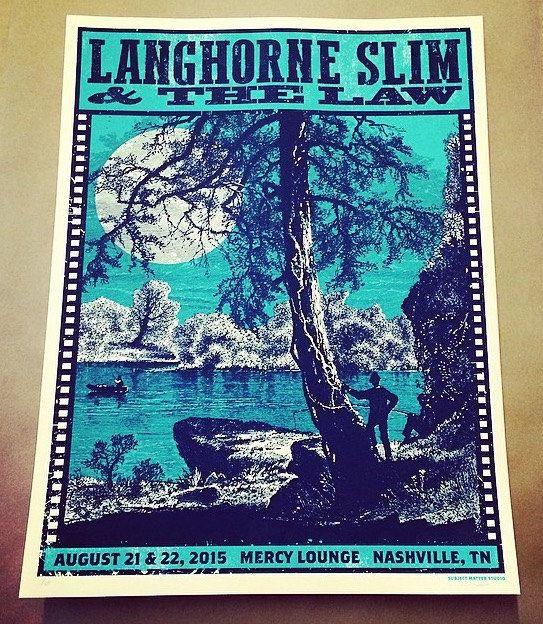 Langhorne Slim and The Law Mercy Lounge by SubjectMatterStudio