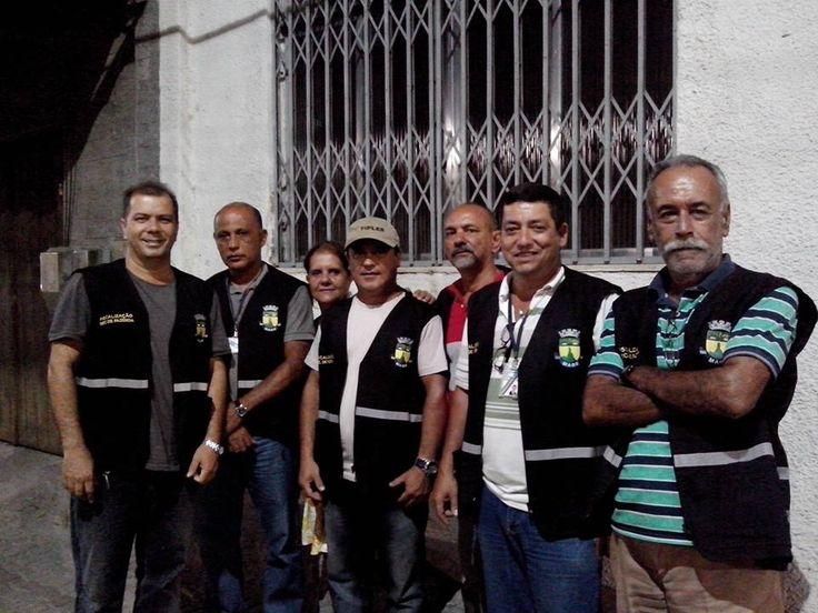 Fiscalização de Magé no pré-carnaval, em 24/02/2014.