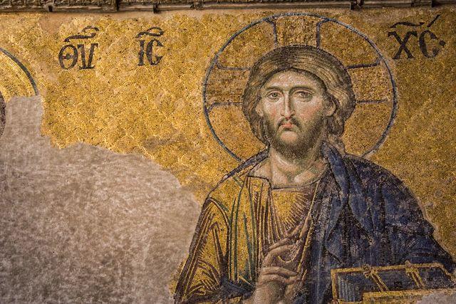 Santa Sofía: historia, curiosidades y mosaicos, Déesis en Santa Sofía, Pantocrátor