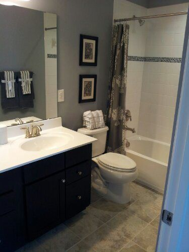 34 best Our New Ryan Home images on Pinterest | Ryan homes ... on Model Bathroom Ideas  id=17390