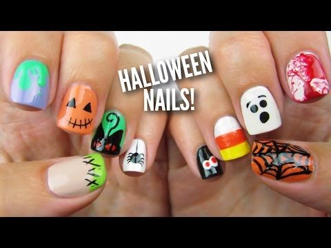 10 Halloween Nail Art Designs So Easy They'll Spook You - One Country