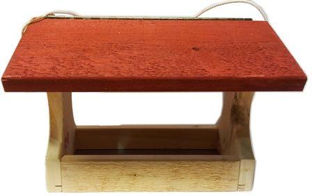 Large Cedar EZ Fill FlyThru Feeder-Red