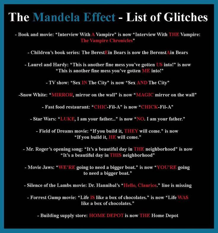 The Mandela Effect - Telltale Community https://www.telltalegames.com/community/discussion/105804/the-mandela-effect