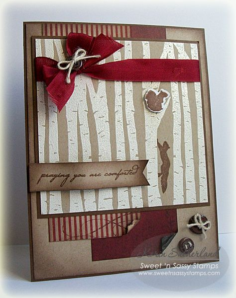 Comforting Birch Forest SC460 by SweetnSassyStamps - Cards and Paper Crafts at Splitcoaststampers
