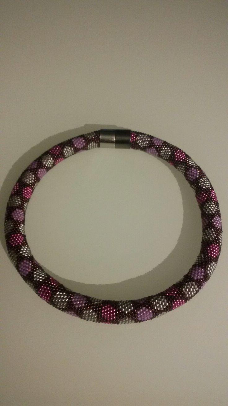 44 best ketten images on Pinterest   Beadwork, Bead crochet and Bead ...