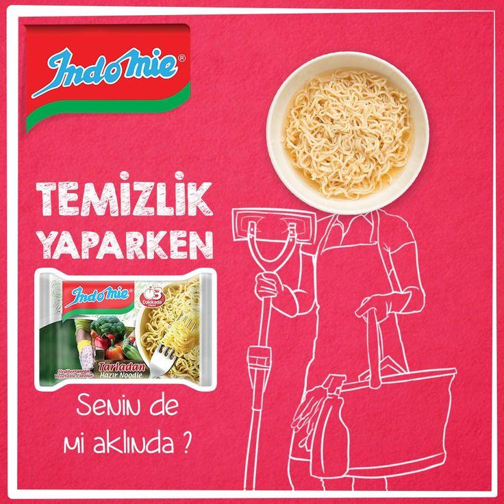 Senin de mi aklında? Hadi noodlelıyalım. #indomie #noodle #noodles #lezzetli