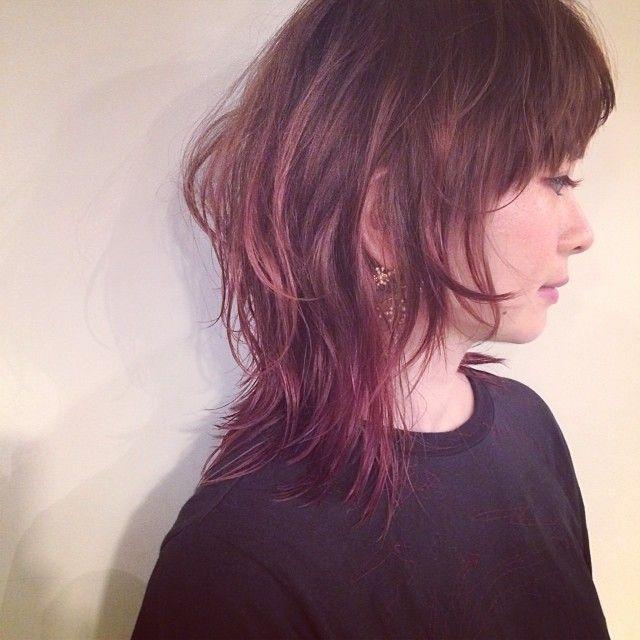 「<2015S/S>トレンドヘアは色気が滲み出る、色っぽウルフ」に含まれるinstagramの画像 MERY [メリー]