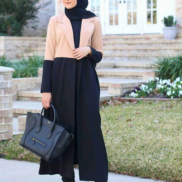 Abaya muslimah moden