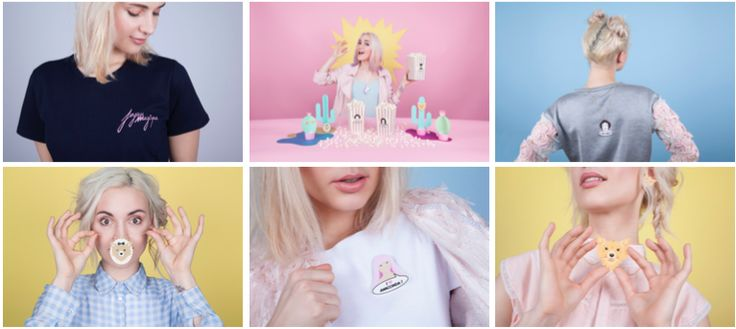 La youtubeuse #Natoo se lance dans la mode avec la création d'une marque de bijoux baptisée #Joyaumagique.