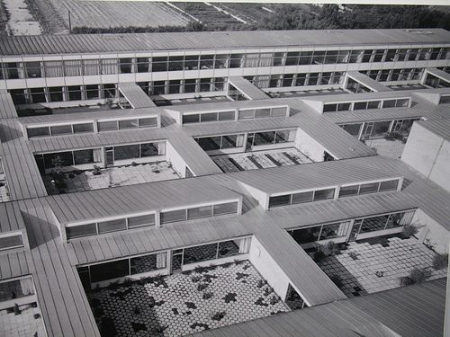 Arne Jacobsen, Primary and secondary school, munkegaard, Copenhagen, Denmark, 1956