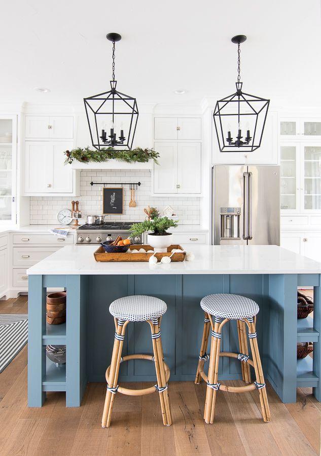 Christmas Kitchen Decor In 2020 Christmas Kitchen Decor White