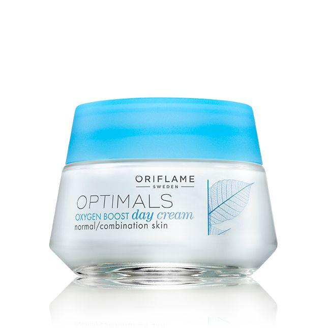 Crema de Día Oxygen Boost para Piel Normal y Mixta Optimals #oriflame