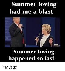 Image result for summer lovin grease memes