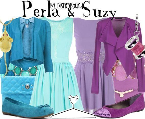 Perla & Suzy disneybound