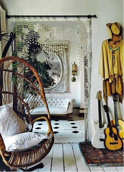 modern hippie decor