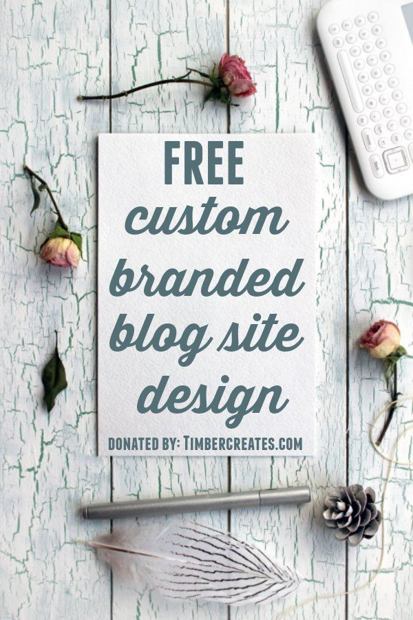 You could win a FREE custom-branded blog site design! Just head over to http://simplehappyeasy.com between January 16 and January 25 to enter the giveaway!