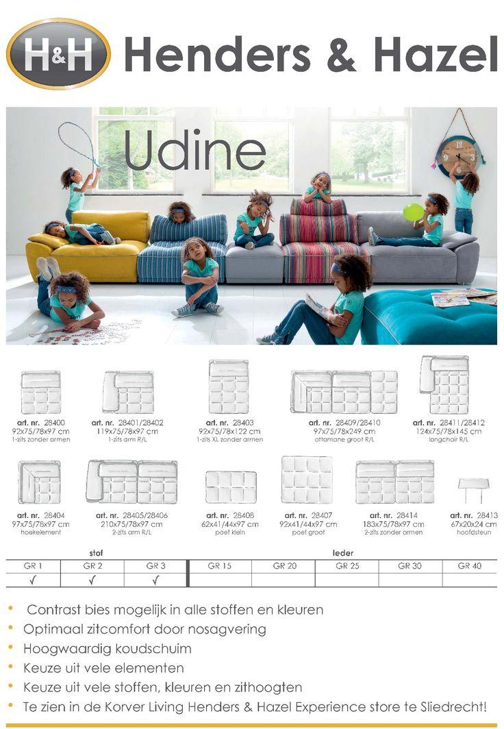 Udine Elementenbank Henders & Hazel Korver Living bank
