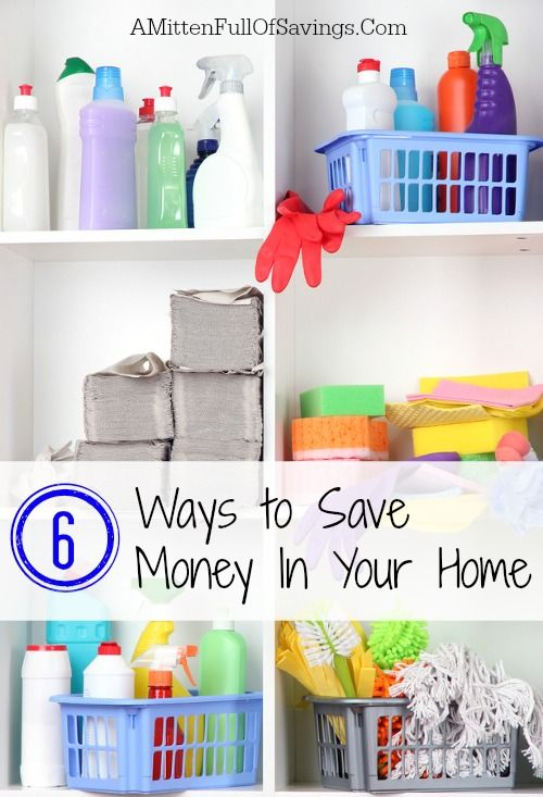 Easy Ways to Save Money In Your Home #moneysaveways #frugaltips