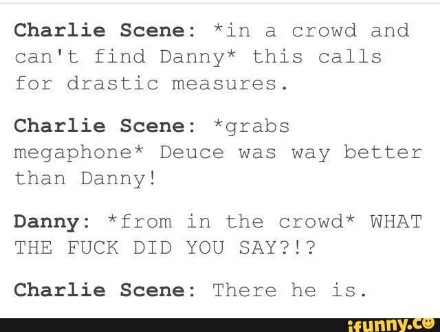 #Hollywood undead #Danny #Charlie Scene