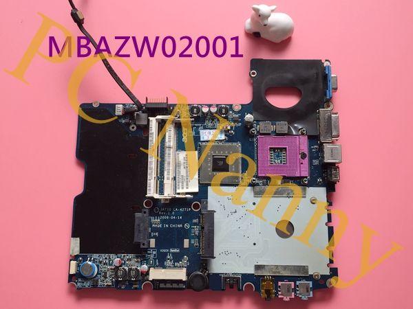 For Acer Aspire 2930 series Laptop Motherboard Intel GMA X4500 DDRII GL40 MBAZW02001 JAT10 LA-4271P