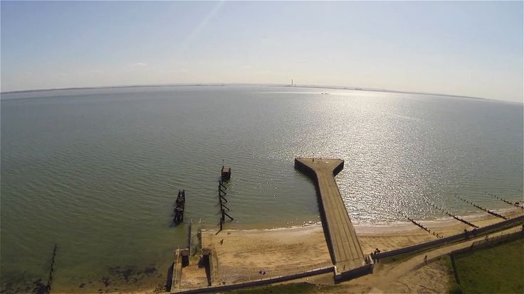 Gunner Park is just a ten minute walk from Shoeburyness Railway Station. This amazing aerial tour by Dave Black captures the beauty of the nature reserve.