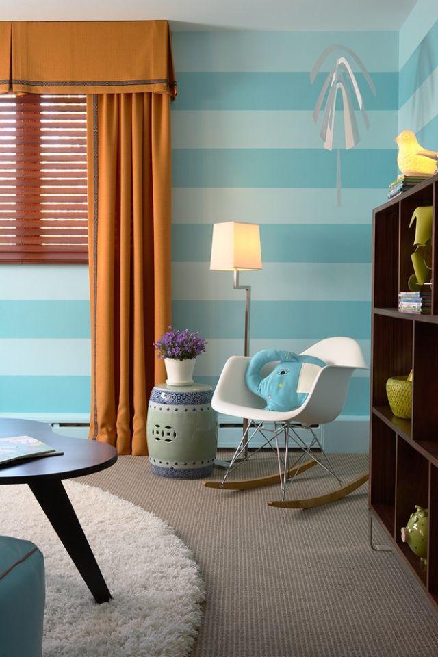 Mejores 23 imágenes de Aqua Blue & Grey Nursery en Pinterest ...