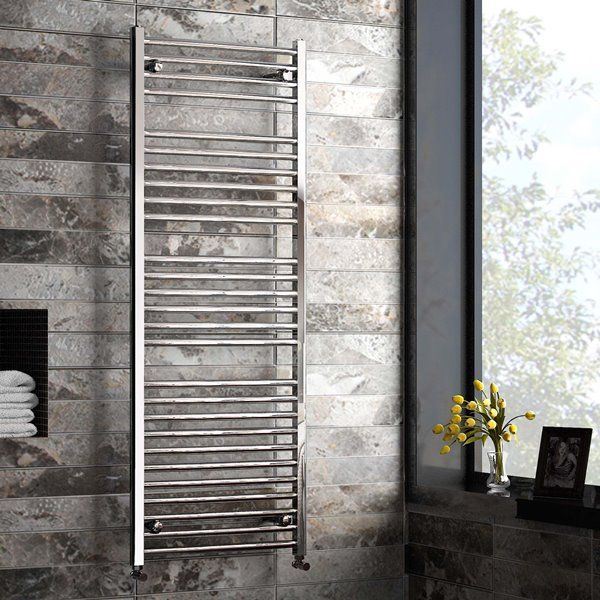 Adding Comfort To Your Bathroom With A Towel Radiator - http://www.interiordesignwiki.com/architecture/adding-comfort-to-your-bathroom-with-a-towel-radiator/
