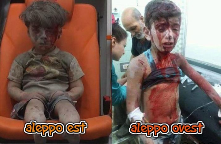Siria: fotoreporter denuncia chi ferisce un bambino ma esulta con chi ne…