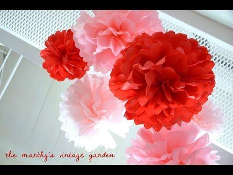 Tutorial Decorazione per feste ♥ Party Decorations - YouTube