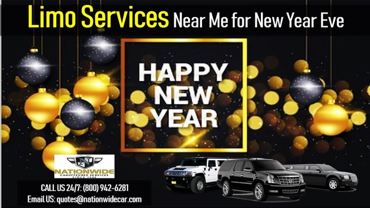 Limo Services Near Me for New Year Eve New years eve