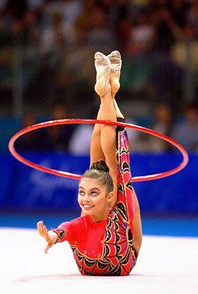 Alina Kabaeva Russia <3 Repin it! The Queen of RG.