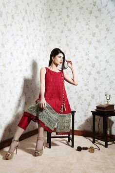 So Kamal Casual Wear Dresses Collection 2015 for Girls