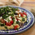Mediterranean 7-Layer Dinner Dip and Sabra Hummus Giveaway from Aviva Goldfarb, The Six O'Clock Scramble @Sabra Dipping Company