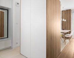 Aranżacje wnętrz - Kuchnia: Mieszkanie M&M - Średnia kuchnia jednorzędowa w aneksie, styl nowoczesny - 081architekci. Przeglądaj, dodawaj i zapisuj najlepsze zdjęcia, pomysły i inspiracje designerskie. W bazie mamy już prawie milion fotografii!